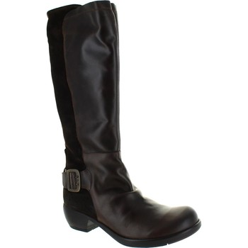 Shoes Women High boots Fly London Miss Dk Brown