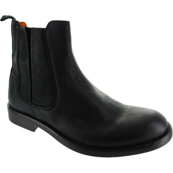 Shoes Men Mid boots Ambitious 7727 Black