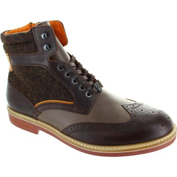Shoes Men Mid boots Ambitious 6357 Brown