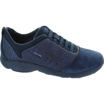 Shoes Women Low top trainers Geox D Nebula A Navy