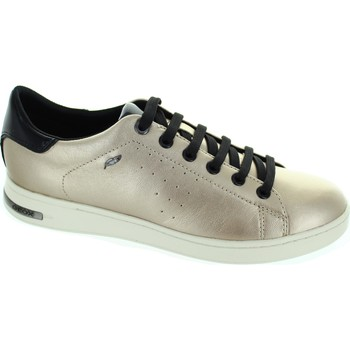 Shoes Women Low top trainers Geox D Jaysen A Champagne