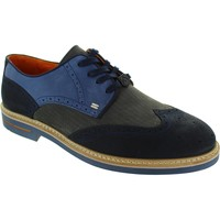 Shoes Men Derby Shoes Ambitious 6191 Navy/Grey