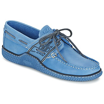 Shoes Men Boat shoes TBS GLOBEK Cobalt / Night