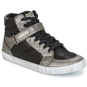 Shoes Women Hi top trainers Kaporal SNATCHY Black