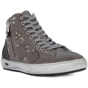 Shoes Women Hi top trainers Nero Giardini NERO GIARDINI MUSK GRAPHITE Grigio