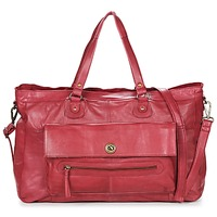 Bags Women Small shoulder bags Pieces TOTALLY ROYAL LEATHER TRAVEL BAG Bordeaux
