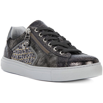 Shoes Women Low top trainers Nero Giardini NERO GIARDINI CRACK GRIGIO Grigio