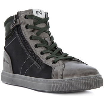 Shoes Boy Hi top trainers Nero Giardini NERO GIARDINI BRANDON GRAPHITE Grigio