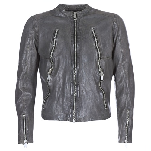 Clothing Men Leather jackets / Imitation leather Redskins ROYCE Grey