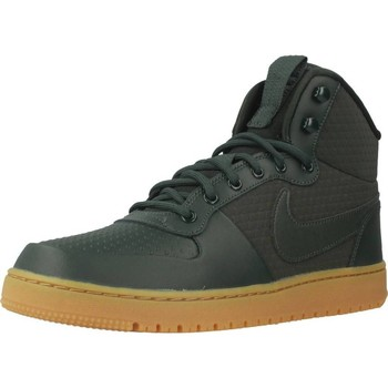 Shoes Men Hi top trainers Nike COURT BOROUGH MID Green