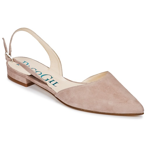 Shoes Women Sandals Paco Gil MARIE TOFLEX Nude