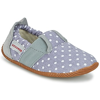 Shoes Girl Slippers Giesswein SILZ - SLIM FIT Grey