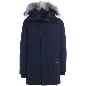 Clothing Men Duffel coats Canada Goose Langford blue parka Blue