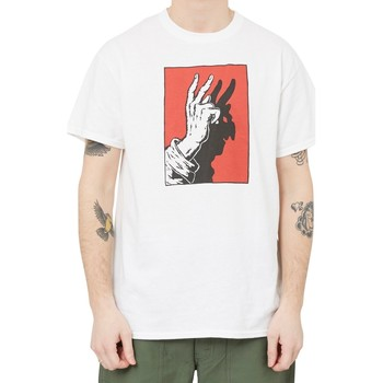 Clothing Men short-sleeved t-shirts Swallows & Daggers x Idle Hands T-Shirt White White