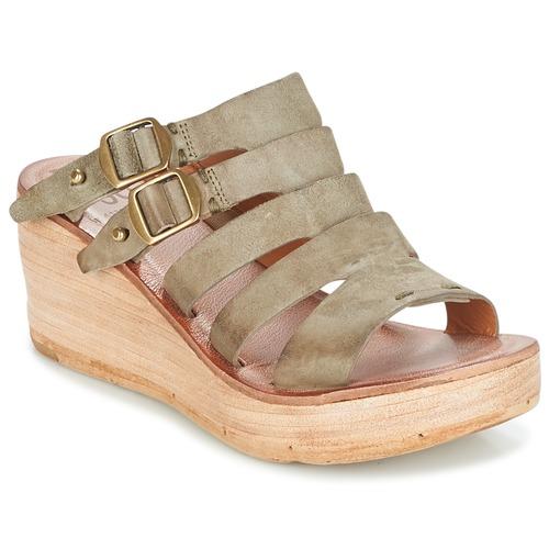 Shoes Women Sandals Airstep / A.S.98 NOA Kaki
