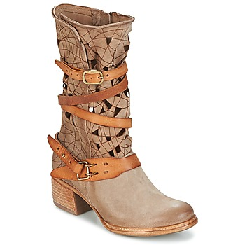 Shoes Women Mid boots Airstep / A.S.98 CRUZ Beige