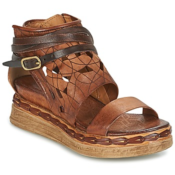 Shoes Women Sandals Airstep / A.S.98 LAGOS Brown