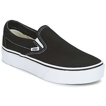 Shoes Women Slip ons Vans Classic Slip-On Platform  black