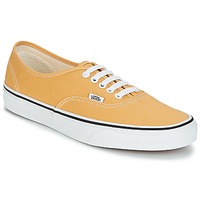 Shoes Low top trainers Vans Authentic Ochre / True / White