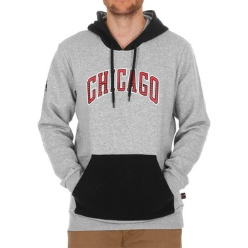 Clothing Men sweaters adidas Originals Kaptur Chicago Bulls Nba Black-Grey