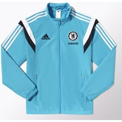 Clothing Men Track tops adidas Originals Chelsea Londyn Light blue