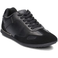 Shoes Men Low top trainers Versace Jeans Tommy Black