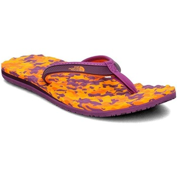 Shoes Women Flip flops The North Face Base Camp Mini Orange