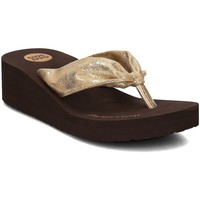 Shoes Women Flip flops Gioseppo Serina Gold Brown