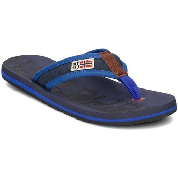 Shoes Men Flip flops Napapijri Toledo Navy blue