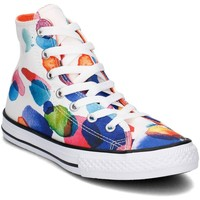 Shoes Children Hi top trainers Converse Chuck Taylor All Star HI White-Red-Blue