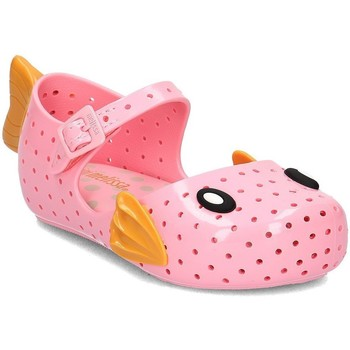 Shoes Children Sandals Melissa Furadinha Fabul Pink