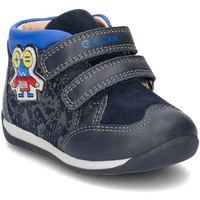 Shoes Children Hi top trainers Geox Baby Each Navy blue