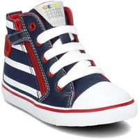 Shoes Children Low top trainers Geox Baby Kiwi Navy blue