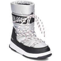 Shoes Children Snow boots Moon Boot WE Sport Silver