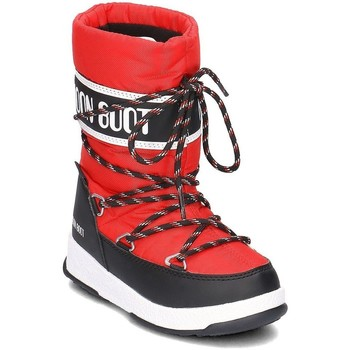 Shoes Children Snow boots Moon Boot WE Sport Red