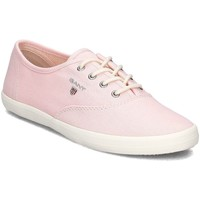 Shoes Women Low top trainers Gant New Haven Pink