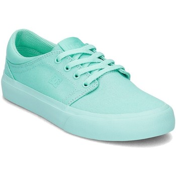 Shoes Women Low top trainers DC Shoes Trase TX Blue