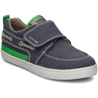 Shoes Children Low top trainers Geox Junior Kiwi Navy blue