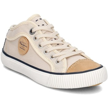 Shoes Children Low top trainers Pepe jeans Industry Beige