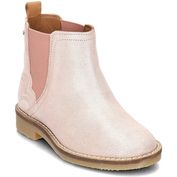 Shoes Girl Ankle boots Pepe jeans Roy Pink