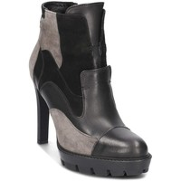 Shoes Women Shoe boots Carinii S3738E50H92063A14 Grey-Black
