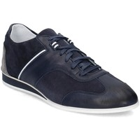 Shoes Men Low top trainers Gino Rossi Alan Navy blue