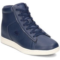 Shoes Women Hi top trainers Lacoste Carnaby Evo Wedge Blue