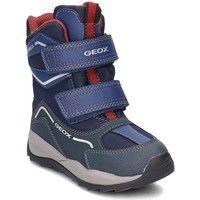 Shoes Children Snow boots Geox Junior Orizont Boy Abx Navy blue