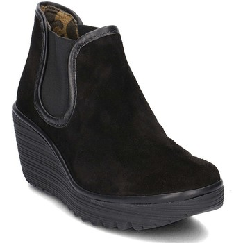 Shoes Women Ankle boots Fly London Yat Black