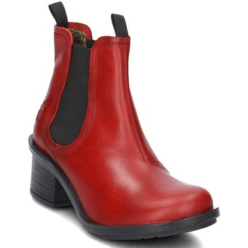 Shoes Women Ankle boots Fly London Coop Red