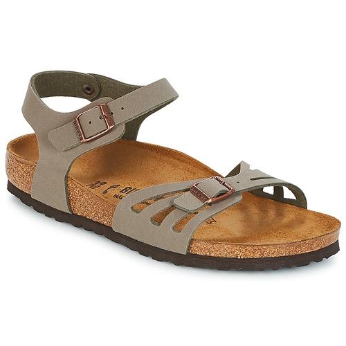 Shoes Women Sandals Birkenstock BALI Grey