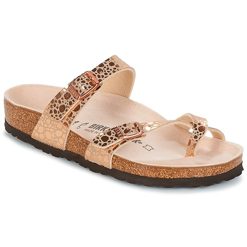 Shoes Women Flip flops Birkenstock MAYARI Pink