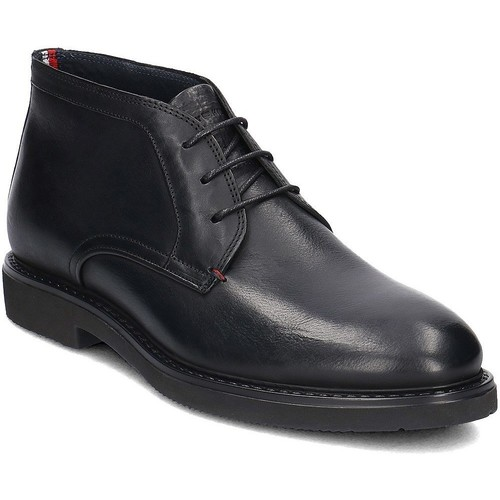 Shoes Men Mid boots Tommy Hilfiger Austin 2A Black