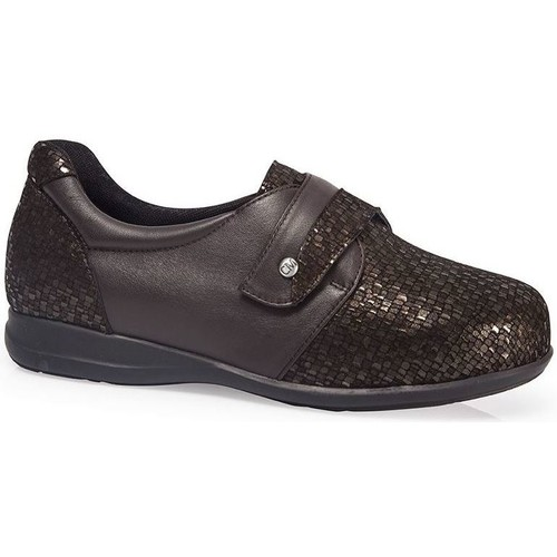Shoes Women Derby Shoes & Brogues Calzamedi SHOES  SPECIAL DIABETICS SCALES W BROWN